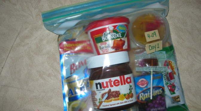 The Food in Your 72 Hour Emergency Kit
