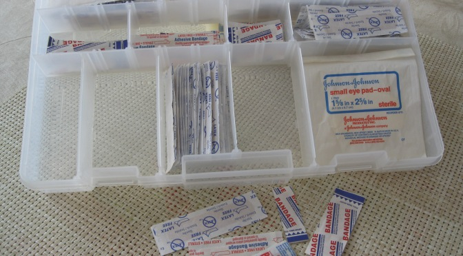 First Aid Kit for the Household
