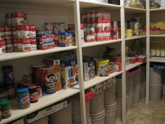 Rotating and Using Your Long-Term Food Storage