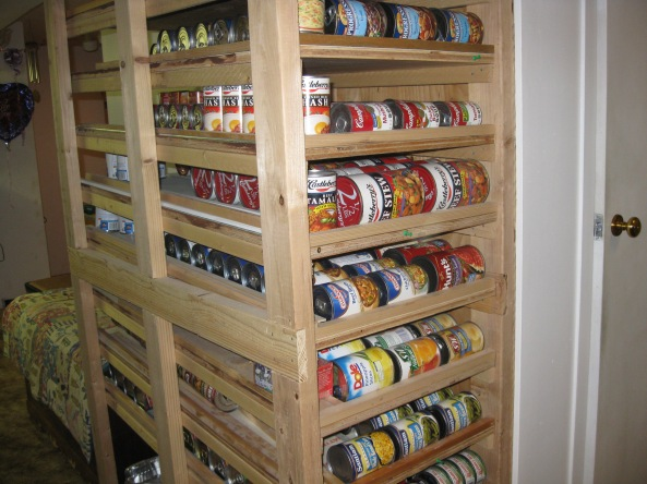 ... Food Storage Shelves Racks Download tree bookshelf woodworking plans