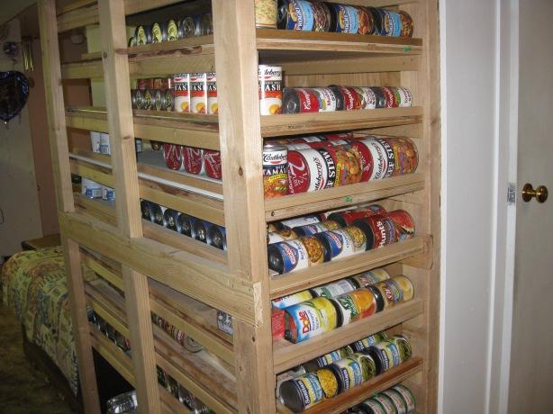 basement shelving plans