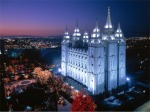 With its distinctive spires and statue of the angel Moroni, the Salt Lake Temple is an international symbol of the Church.