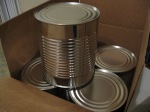 #10 cans - long-term food storage
