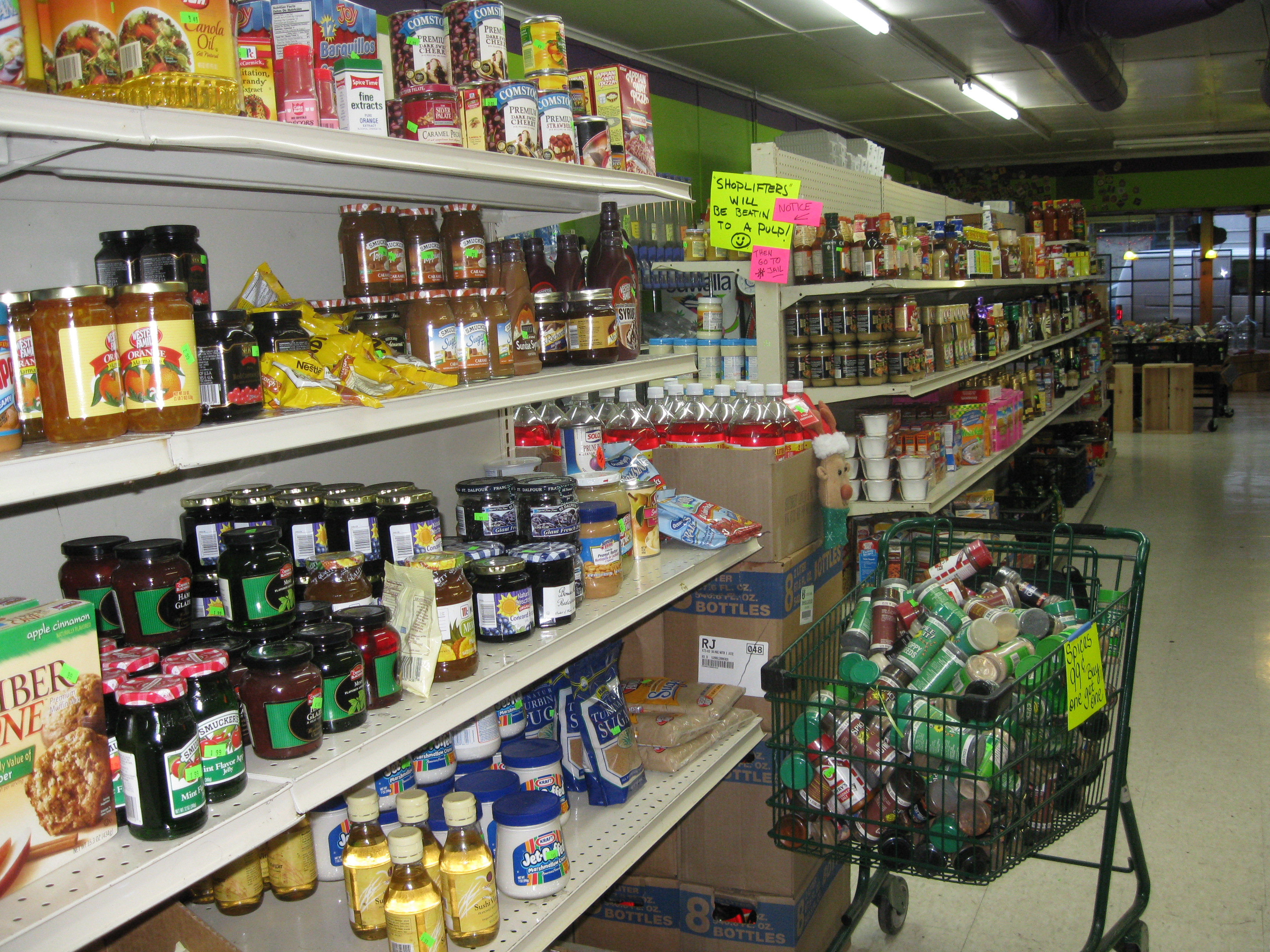 Salvage Grocery Stores | LDS Intelligent Living