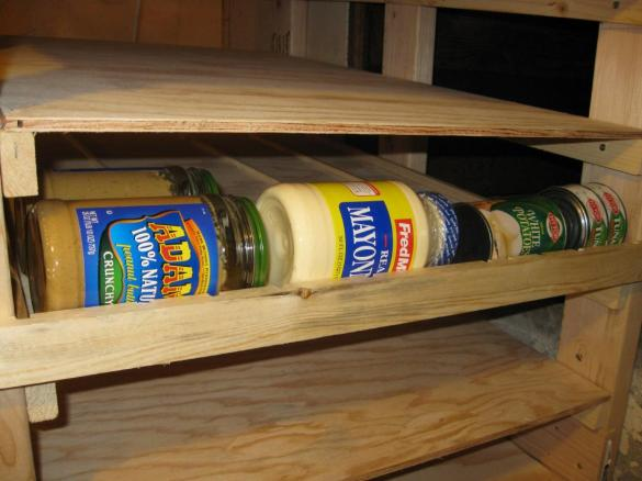 food storage shelf plans