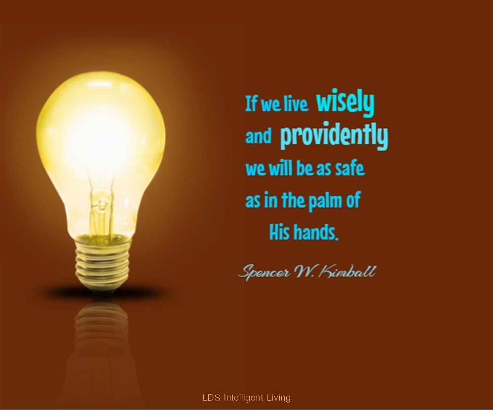 Quotes About Light Bulbs: LDS Intelligent Living